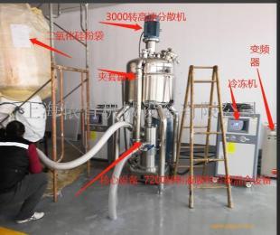 二氧化硅消光粉高速分散机和高速混合机