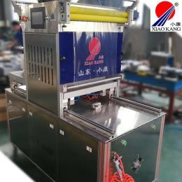 双工位气调封盒狮子头包装机-小康牌盒装海鲜狮子头锁鲜包装机