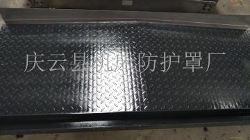 庆云县机床防护罩加工制作中心  钢板式防护罩