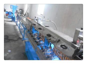 PE塑料造?;ü娓瘢?,PE加玻纤造粒设备(规格)