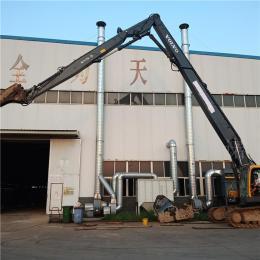 沃尔沃360 22米挖掘机三节拆楼臂