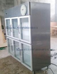 化工厂冷藏不锈钢防爆冰箱六开门BL-L1300C
