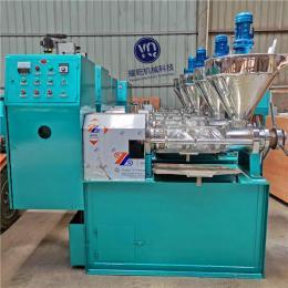 螺旋榨油机多功能 全自动榨油坊榨油机 商用菜籽压油机
