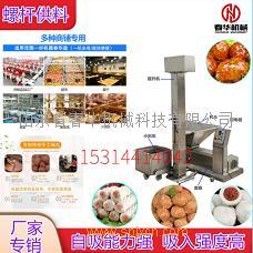 食品浆料螺杆供料机 大型食品厂丸子成型前期供料设备