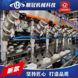 張家港順冠QGF-900純凈水廠生產線設備 全自動桶裝水灌裝機 純凈水廠設備