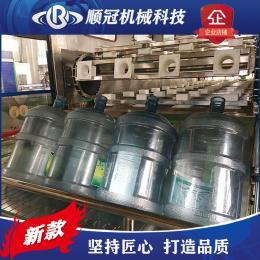 張家港順冠QGF-600桶裝純凈水設備 礦泉水生產線設備 桶裝水灌裝機