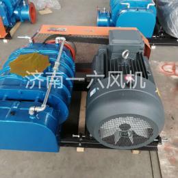 低噪音气力输送三叶罗茨风机物料输送罗茨鼓风机