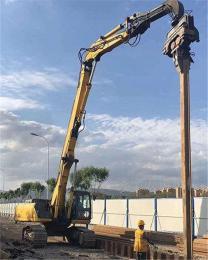 一款可放心选购的挖掘机打桩臂 大中型挖机打桩