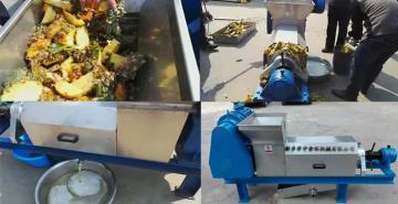 菠萝压榨机 菠萝榨汁机 图