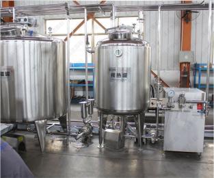 乳品生產線設備廠家 牛奶生產線預熱罐 牛奶殺菌加工設備