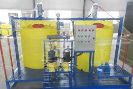 雨水收集控制柜  雨水收集调蓄池