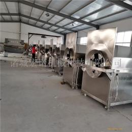 大型油料炒籽设备生产线 芝麻胡麻电磁炒货机 自动炒料机