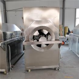 水洗芝麻炒炉 电磁加热滚筒炒货机 不锈钢自动炒锅