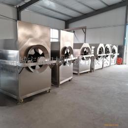 大型电磁加热炒货机 全自动水洗芝麻机 电磁炒货机