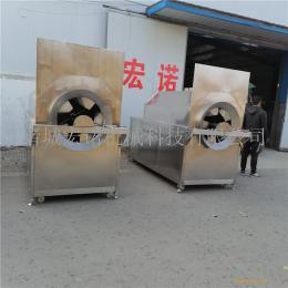 麻仁芝麻滚筒炒炉 电磁加热炒货机 自动电炒锅