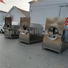 水洗芝麻电磁炒货机 全自动炒货机 油料炒籽机器 滚筒电炒锅