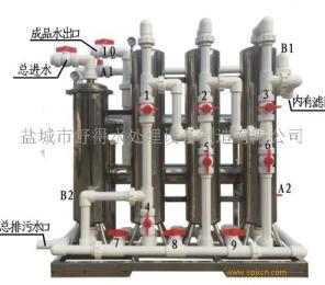 供应养鸡场河水净水器 过滤饮用水设备