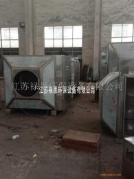无锡UV光氧催化设备 碱洗塔后置活性炭吸附箱除臭装置