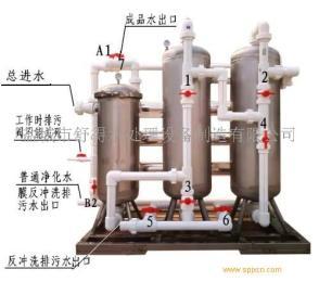 供应食堂用井水净化饮用水设备