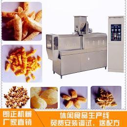米豆鍋巴油炸膨化食品加工設備lz65-lll主機