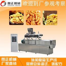 郑州双螺杆膨化机 南瓜酥休闲食品生产线