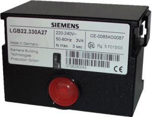 德国原装西门子程控器LGB21.330A27燃烧器控制器