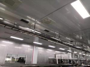 供應廣西湖南食品廠風淋室,食品廠無塵車間工程設計安裝