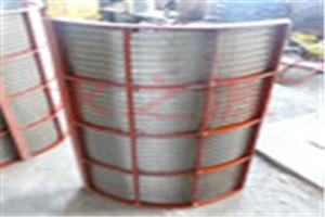 不锈钢条缝筛板 楔形网筛板 酒渣过滤筛网 弧形筛