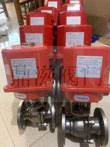 UM-3进口台湾TWRING不锈钢法兰UM-3电动阀