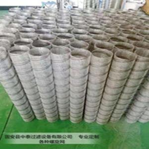 供应各种不锈钢螺旋网滤芯骨架