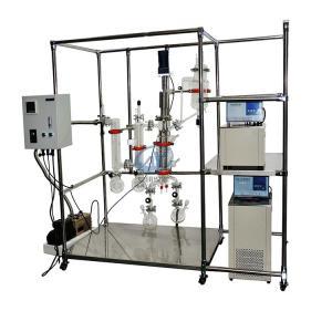性价比高玻璃分子蒸馏仪AYAN-F100预加热功能温度可调